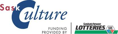 Sask Lotteries Sask Culture logo