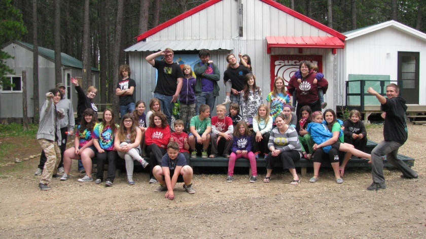 Hippy Mini Camp 2014 Theme: Sustainable Development Camp Shagabec Cypress Hills SK