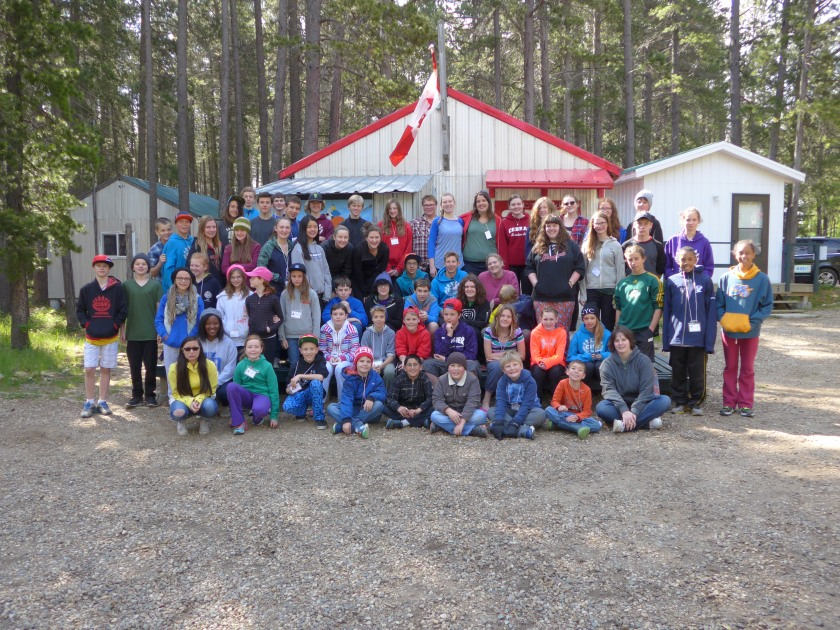 Meeting in the Middle Mini Camp 2015 Regional Mini Camp with CISV Calgary Theme: Conflict and Resolution Camp Shagabec, Cypress Hills SK